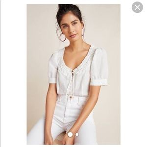 NWT winifred blouse size 2 anthropologie